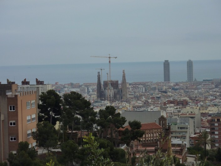 kelionės, lėktuvu, Barselona