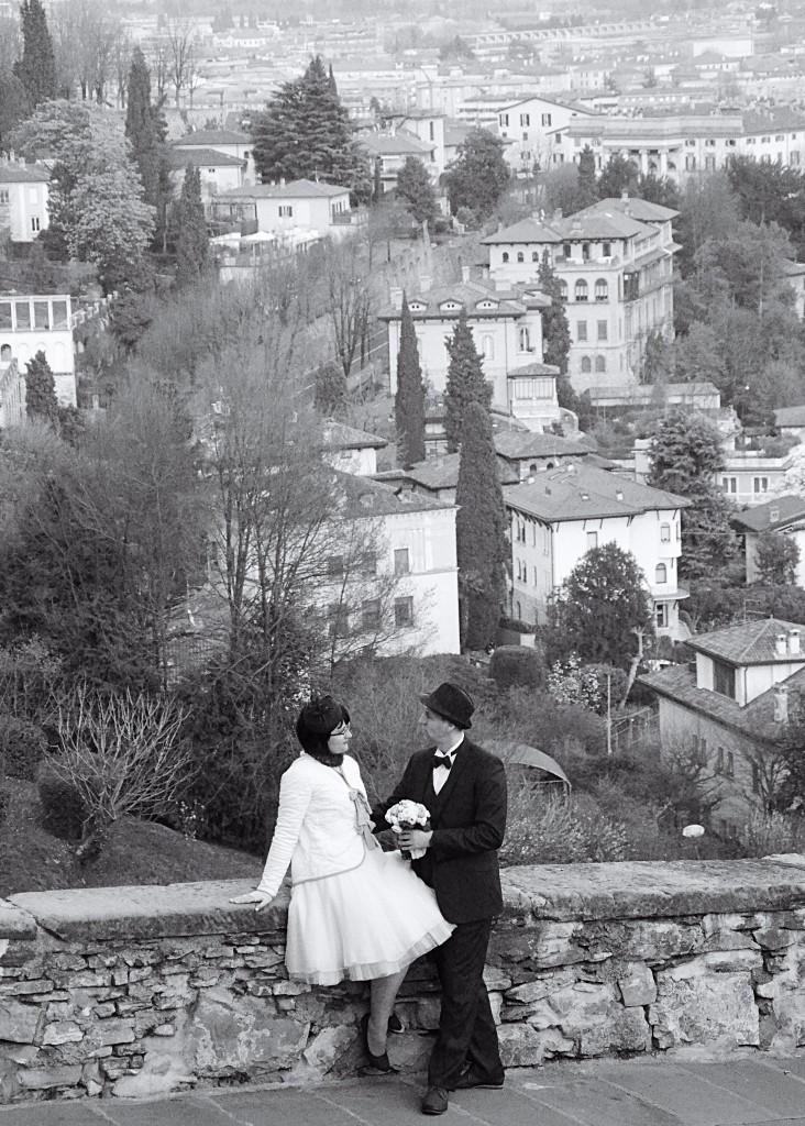 vestuvės Bergamo